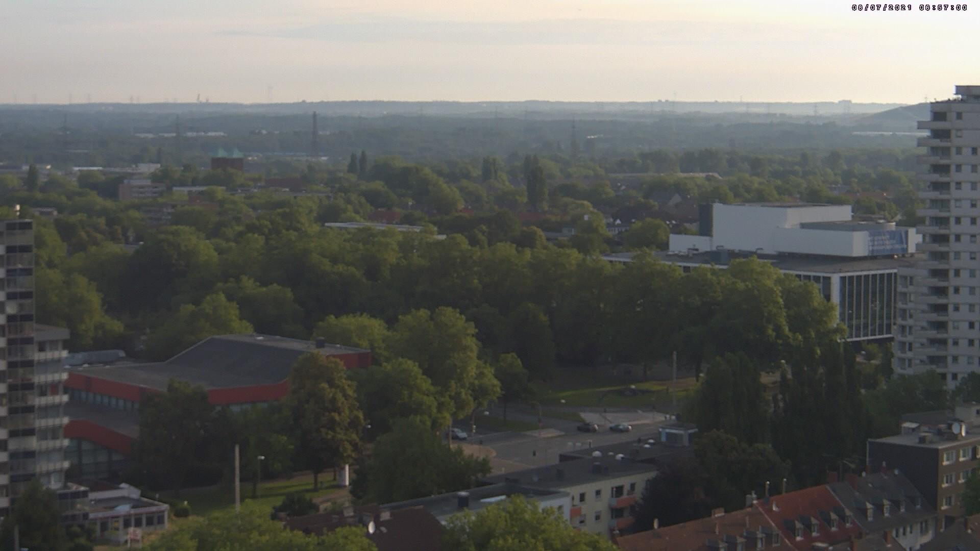 Gelsenkirchen Skyline Webcam >